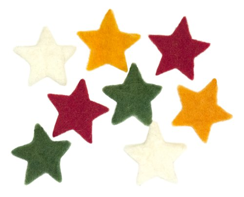 Dimensions Needle Felting Embellishments, Small Stars ()