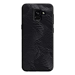Cover It Up - Rising Nanotubes Galaxy A8 Plus Hard Case