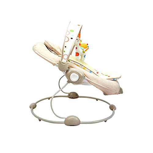 AIBAB Baby Comfort Chair Music Vibration Multi-Function 0-18 Months Can Be Seated in A Cradle Chairr