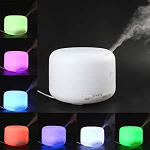 Amazon.com: OriGlam® 500ML Ultrasonic Humidifier LED Color