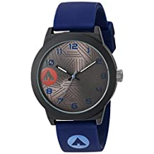 Airwalk Unisex AWW-5100-NB Analog Display Chinese Automatic Blue Watch