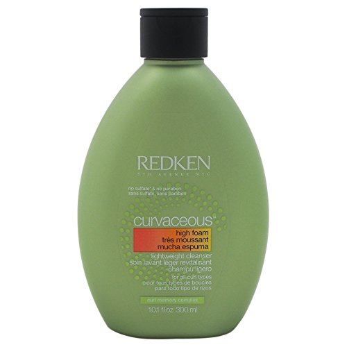 Redken Curvaceous Unisex Champu 300 ml - Champues (Unisex, Champu, Todo el pelo, Pelo rizado, 300 ml, Hidratante, Botella)