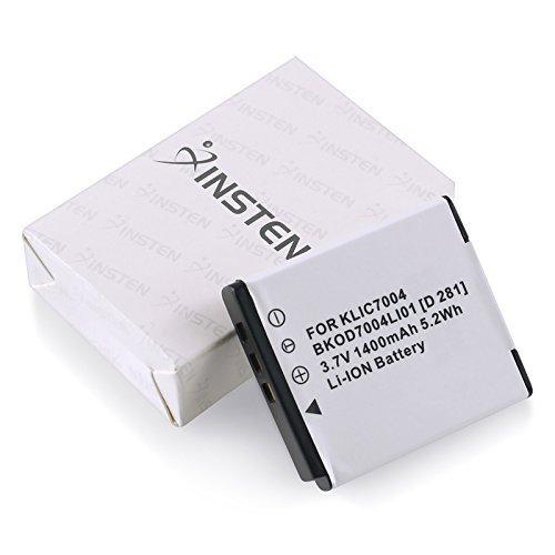 Klic 7004 Replacement Battery (Kodak KLiC-7004 Replacement Battery for Kodak EasyShare M1033, V1233, V1253, V1273)
