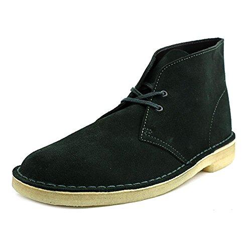 Desert Footwear (Clarks Men's Desert Chukka Boot, Dark Green, 11 M)