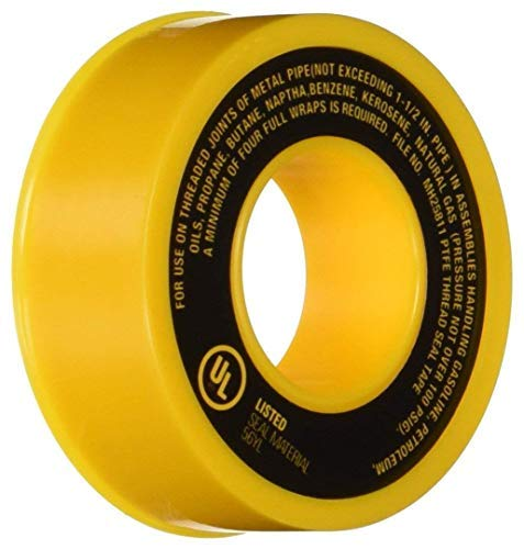 (Harvey 017065 Gas Line PTFE Thread Seal Tape (2 Pack))