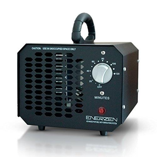 Enerzen Commercial Ozone Generator 3500mg Industrial O3 Air Purifier Deodorizer Sterilizer (Black)