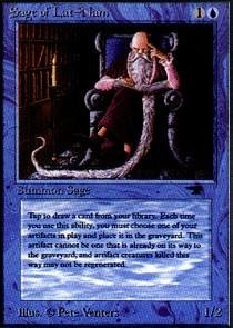 Magic: the Gathering - Sage of Lat-Nam - Antiquities