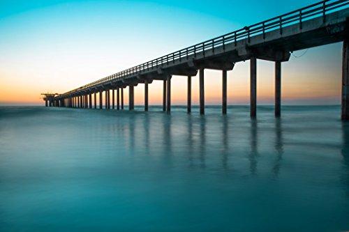San Diego Sunset Pier 12