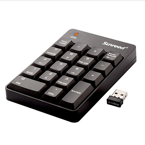 Sunreed Full size Wireless Keyboard Receiver product image