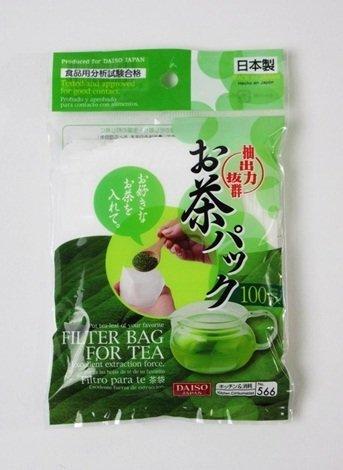 Daiso Disposable Filter Bags for Loose Tea (3 x100 pcs)