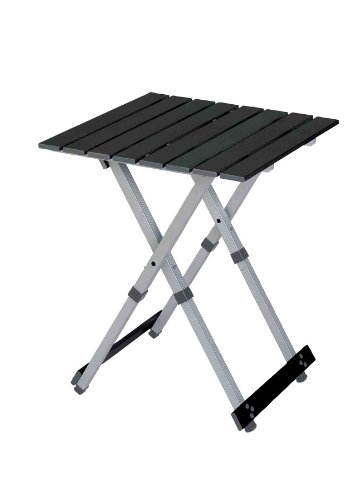 GCI Outdoor Compact Camp 20 Table, Black Chrome