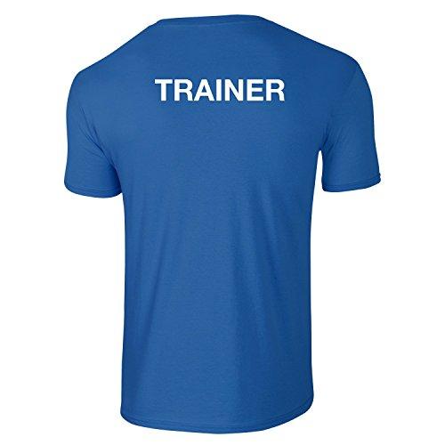 Herren Trainer T-Shirt, Personlich Trainer, Lehrer, Fitnesstrainer, Sportlehrer, Tiertrainer - Blau