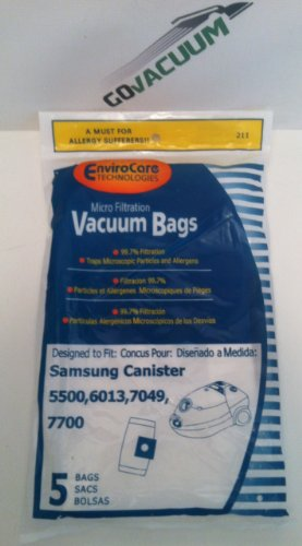 5500/7700 Samsung Vacuum Replacement Bag (5