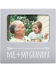 Kate & Milo Me & My Grandpa Frame, Best Grandpa Ever Gifts, Grandparent's Day, Grandfather Gifts, Father's Day, Gray