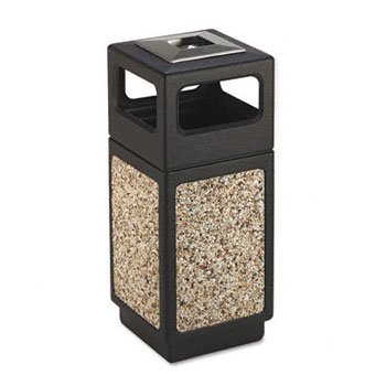 Safco® Canmeleon™ Aggregate Panel Receptacles RECEPTACLE,SIDE,15GL,AGG (Pack of 2)