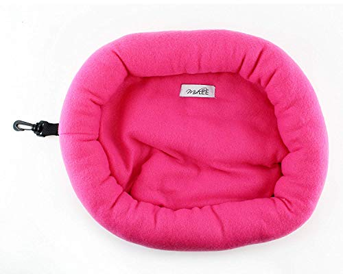 (Guinea Pig Bed - Round Fleece Small Animal Bed 15
