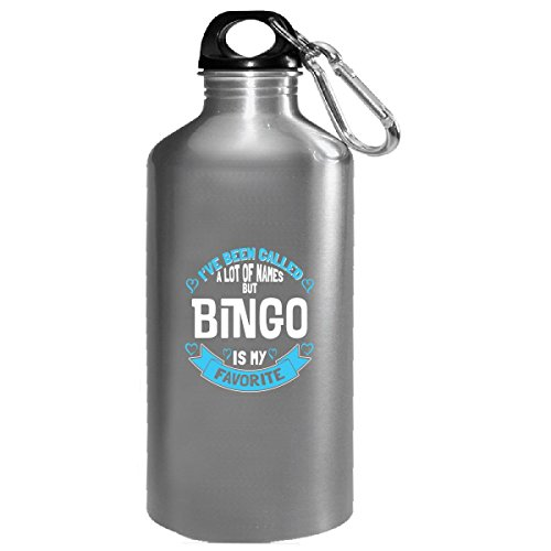 Bingo Is My Favorite Name As A Grandmother - Water Bottle by My Family Tee