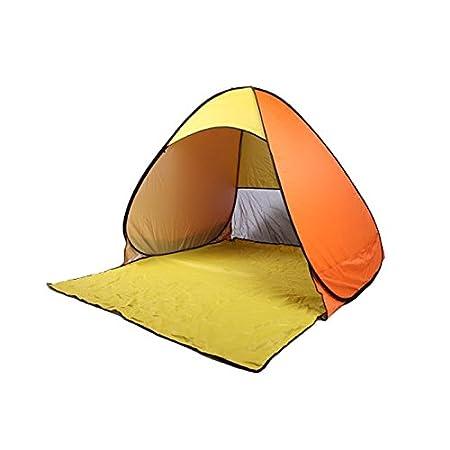 Pop up tente, extérieur ultra-léger pliant automatique tente ouverte cabane pour bébé tentes abri soleil pour les activités familiales touriste/jardin/Camping/pêche/Beach Times anti-UV wigwam PerGrate