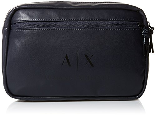 Armani Exchange Men's Sling Bag Accessory, -blue/black, - Men Exchange Armani Bags For