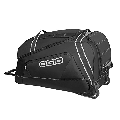Ogio 121012.36 Big Mouth Wheeled Gear Bag, Stealth Black
