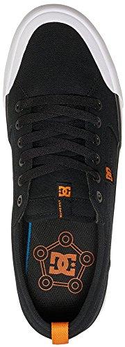 DC–-Uomini Evan Smith S Low Top Scarpe Casual Nero/Arancione