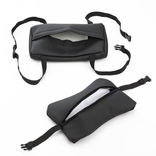 Spieltek Blank Pillow Sleeve Set (Leatherette, Black) by Spieltek