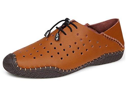 Miyoopark - Escapines de malla para hombre marrón