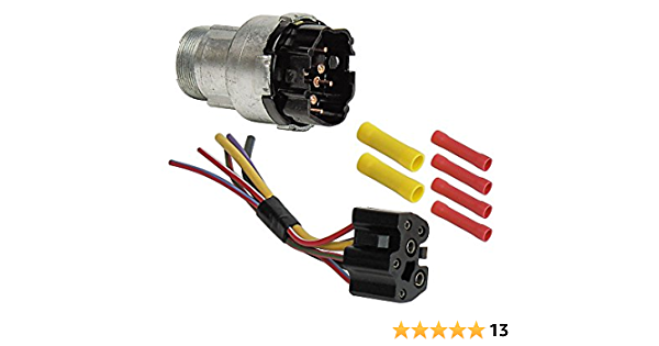 Amazon Com Ignition Switch With Wiring Harness For 1968 69 Galaxie Fairlane Mustang 70 F100 Maverick Ebsw1054kt Automotive