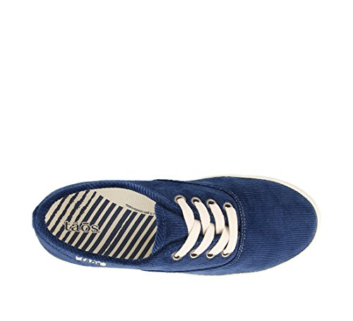 Taos Calzature Donna Guest Star Blu Cord Canvas Fashion Sneaker 7.5 B (m) Us