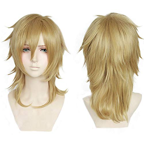 (magic acgn Blonde Party For Men Japanese Anime Cosplay  Christmas Halloween Wig  )