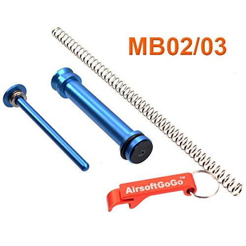 PPS Enhanced Upgrade Kit para Well VSR10 MB02 MB03 Airsoft Bolt Action - AirsoftGoGo Llavero Incluido