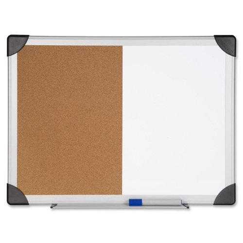 LLR19291 - Lorell Dry Erase/Cork Board Combination by Lorell