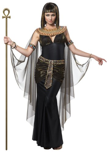 California Costumes Women's Cleopatra Adult, Black, Small - Cleopatra Halloween Costume