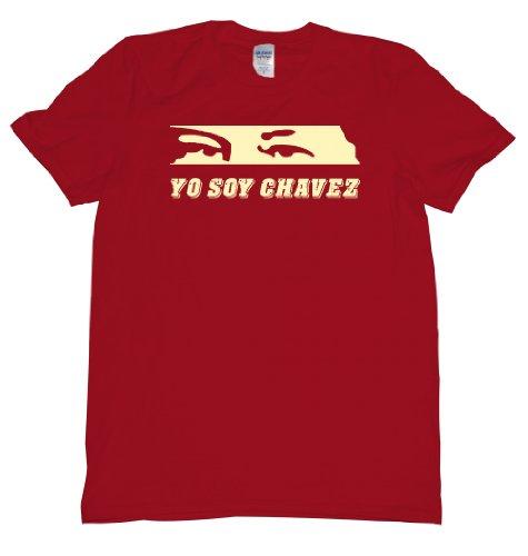 Hugo Yo Soy Chavez Venezuela Eyes T-Shirt Mens XL red U
