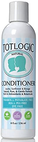 TotLogic Conditioner - Original Scent - 8 Ounce - Infused with Natural Jojoba, Borage, and Sunflower Seed Oil, Rich In Antioxidants