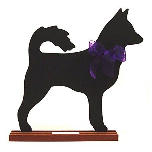 Voila Canaan Dog Blackboard - Table Model
