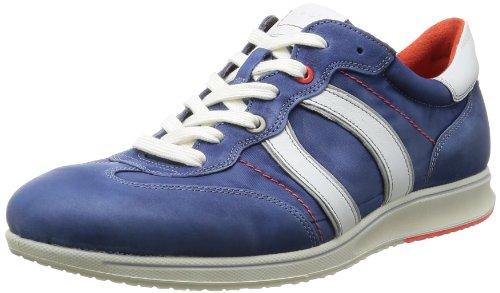 ECCO Jogga - Zapatos de cuero hombre azul - Medievel/Wild/White