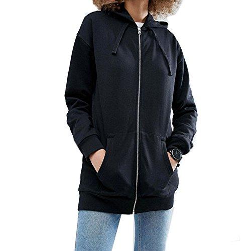 Roiii - Sudadera con capucha - para mujer negro