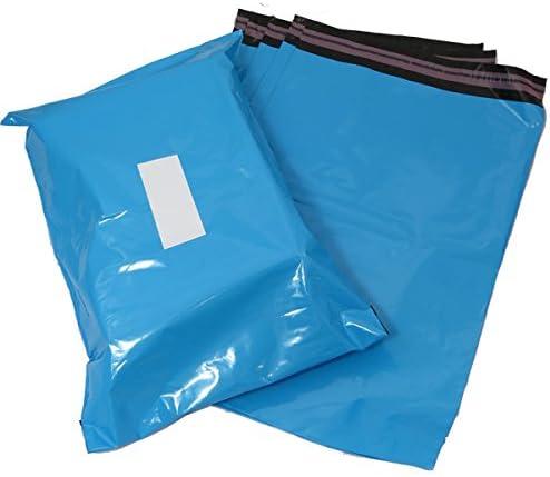 confezione da 100 in plastica Triplast 40 x 30 cm-Buste per posta colore: blu