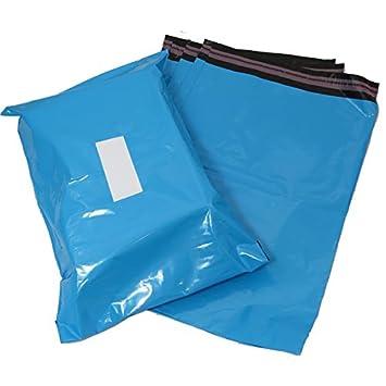 Triplast 14 x 10 cm-Buste per posta, in plastica, colore: blu (confezione da 500) MBBAB10X14500