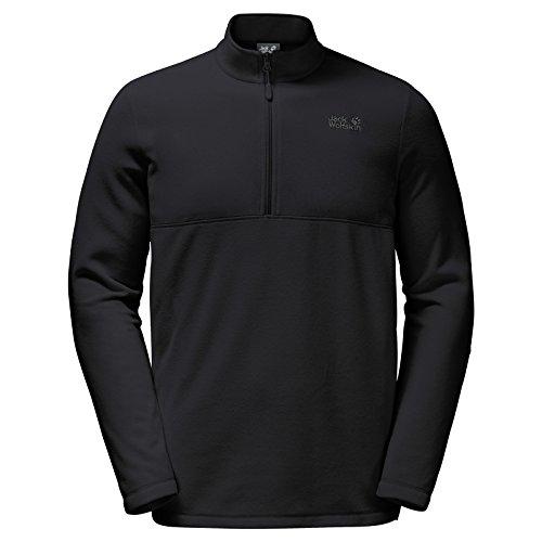 Jack Wolfskin Men's Gecko Shirt, Large, Black