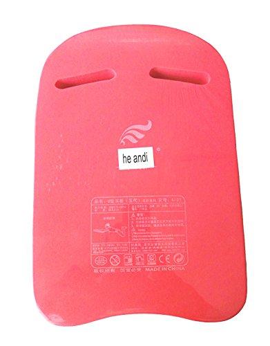 he andi Swimming Training Aid Kickboard - U Design Swim Pool Float Floating Buoy Hand Board Tool Foam for Kids Children Summer (Red)