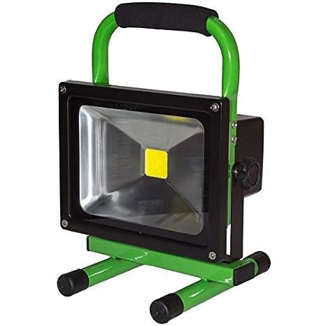 Solairpratique-Proyector con luz LED 20 w, luz blanca cálida ...