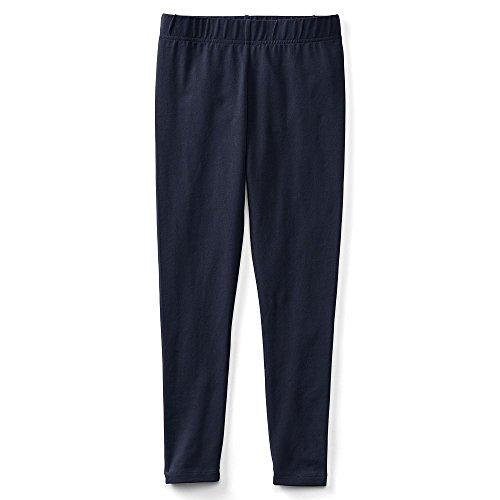 Lands' End School Uniform Little Girls Ankle Length Leggings, S, Classic (Lands End School Uniforms)