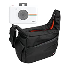 Besace de transport multi-poches pour Polaroid Snap et Pic 300, Fujifilm Instax Mini 70 et instax WIDE 300 appareil photo instantané et leurs accessoires
