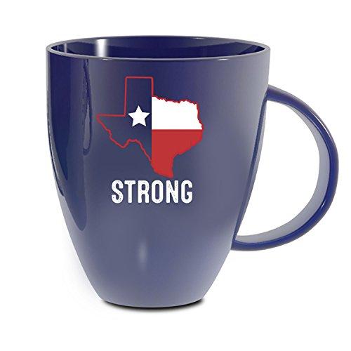 Mug Houston - Evergreen Texas Strong Lustre Bistro Coffee Mug, 18 ounces - Support Houston, TX and Hurricane Harvey Victims