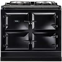AGA ADC3G Dual Control 39 Inch Wide 4.26 Cu. Ft. Slide In Dual Fuel Range with S, Black