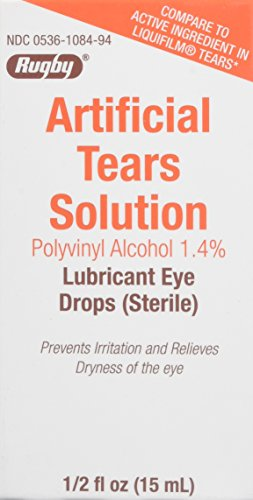 Artificial Tears Ophthalmic Solution - Artificial Tears Ophthalmic Solution, 0.5 Fluid Ounce - Pack of 2