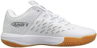b4d4d3a351f69 AND1 Men's Attack Low Basketball Shoe, White/Super Foil/Gum, 8.5 M ...