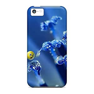 Fashionable Style Case Cover Skin For Iphone 5c- Smileys Art Digital